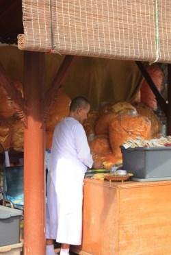 Nonne - Ayutthaya - Thailande