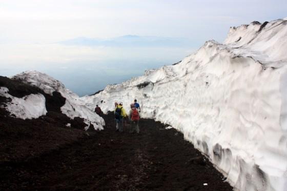 glacier Fuji - Japon