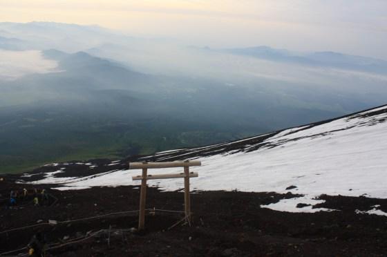 Torii Fuji - Japon
