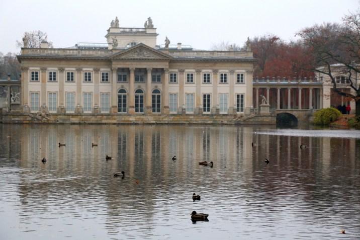 Palais sur l'ile - Parc Łazienki - Varsovie
