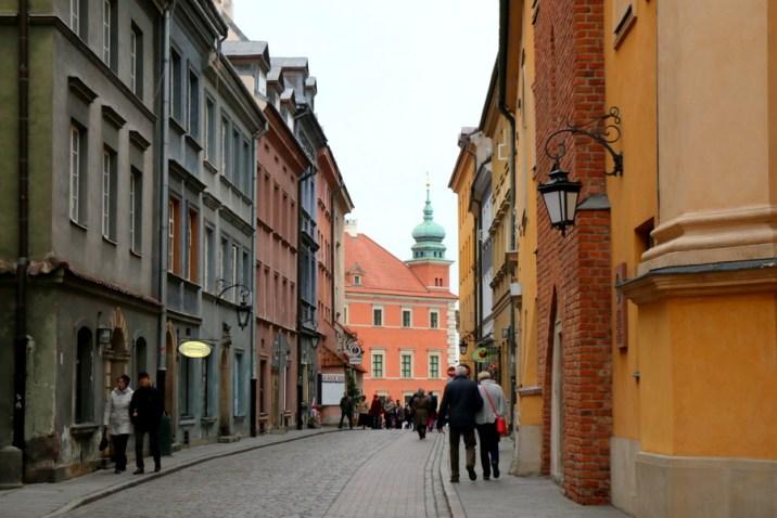 Ruelle Stare Miasto - Varsovie