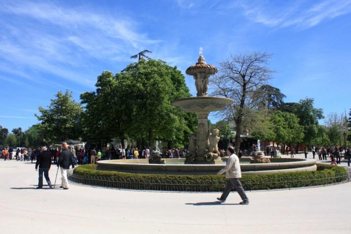 Fontaine - Parc Retiro