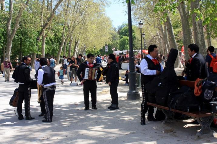 Musiciens - Parc Retiro