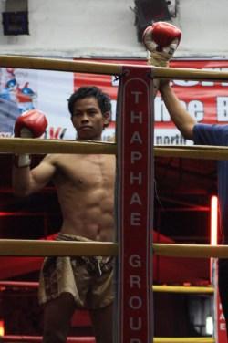 Match de boxe thai
