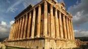 Temple of Bacchus, Baalbek, Lebanon