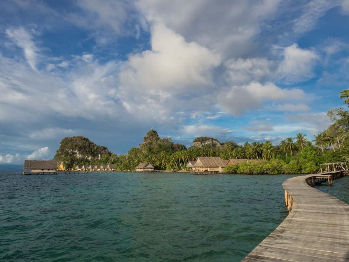 Bungalow Unterkunft Pulau Pef Raja Ampat