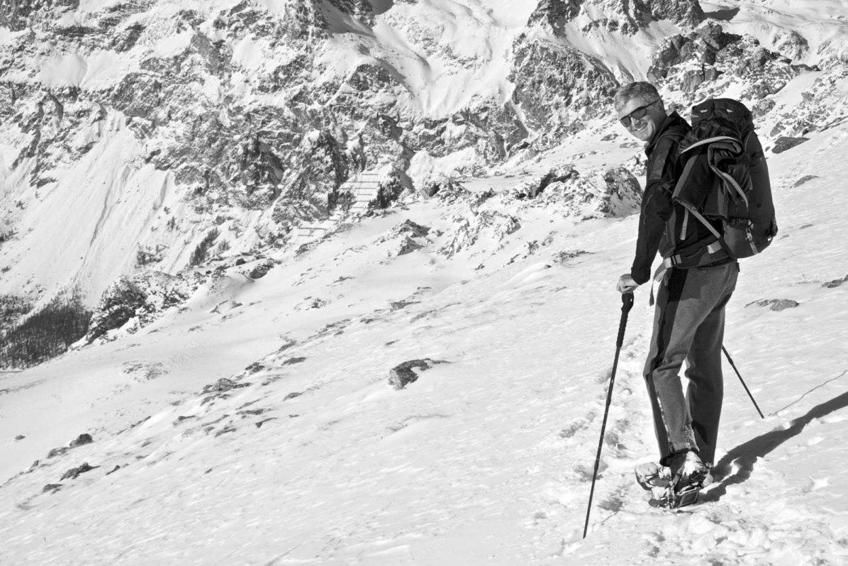 Outdoor Butler Schneeschuhwanderung Engadin 08
