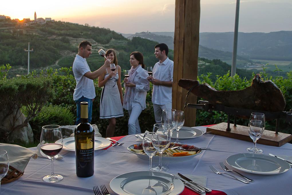Duszny smak chorwackiej Istrii - Vina Laguna Terra Rossa