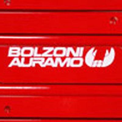 Picture showing the BOLZONI AURAMO logo