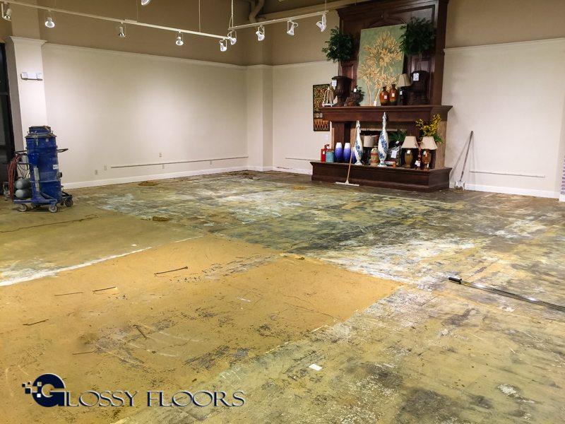 Ashley Furniture Polished Concrete Floors
