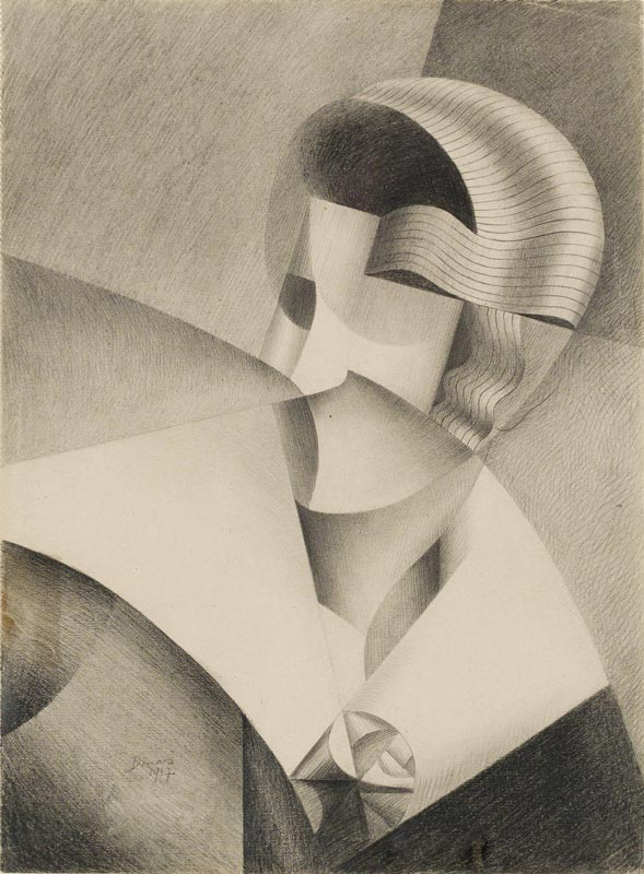Schirn_Presse_STURM_Frauen_Donas_Tete_cubiste_1917_web