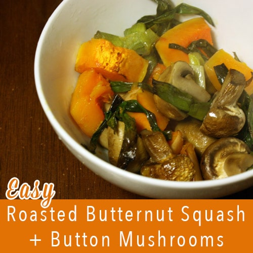 This roasted butternut squash recipe is super simple to make and surprisingly filling. Serve it as a side or a main dish.