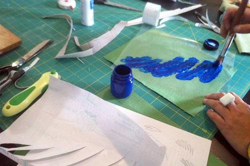 making stencils