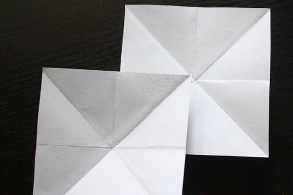 overlapped corners