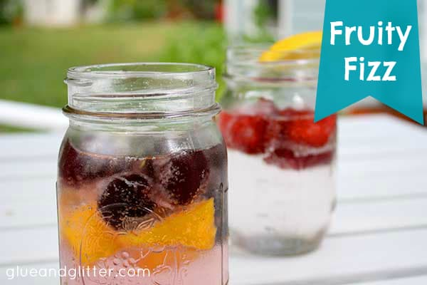 Tired of drinking plain water? The Fruity Fizz is the perfect summer drink to keep you hydrated without extra sugar or artificial flavorings!