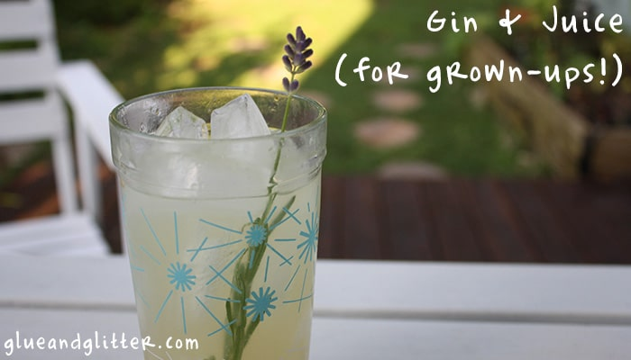 Gin and Juice for Grown-Ups: Friday Cocktail