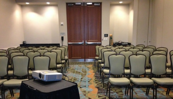 2014 Georgia Organics Conference: My Room