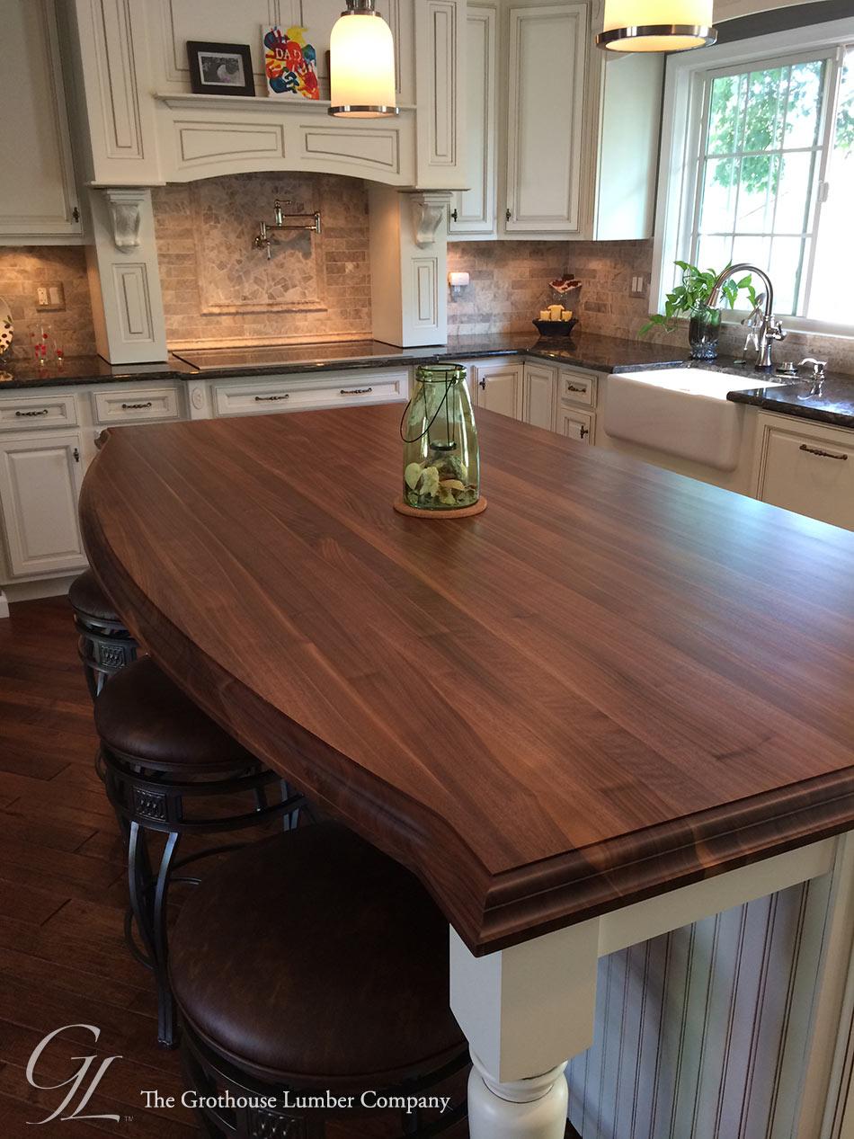 walnut kitchen island A*usBkXuZVc kitchen island countertop Custom Walnut Kitchen Island Countertop
