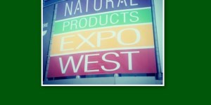 I'm at Natural Products Expo West this weekend