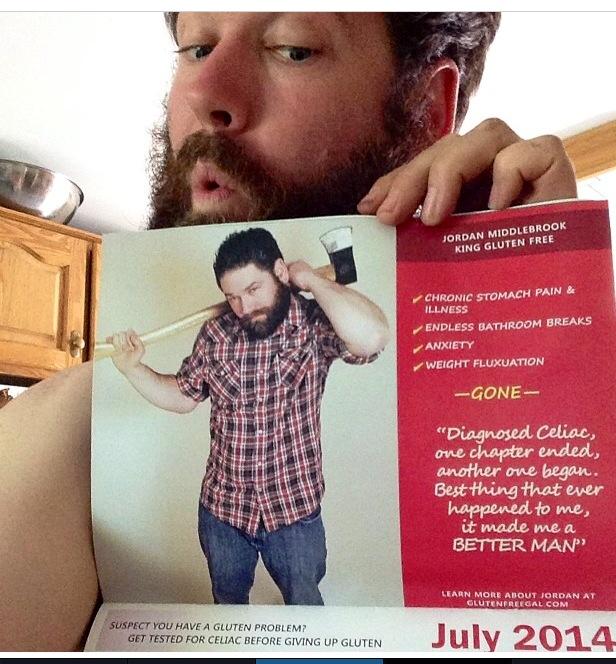 Meet King Gluten Free & follow his Journey Down the Celiac Brick Road