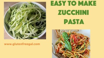 Easy to Make Zucchini Pasta