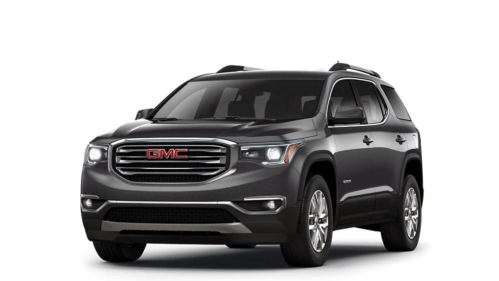 Small  Mid Size   Full Size SUVs   GMC 2018 Acadia iridium metallic