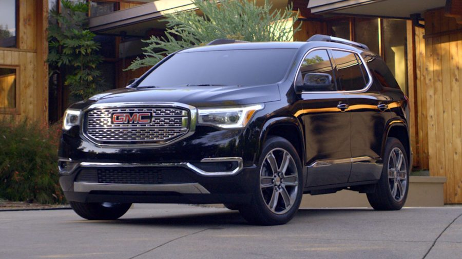 New GMC Denali Luxury Vehicles   Luxury Trucks and SUVs 2018 Acadia Denali exterior product video