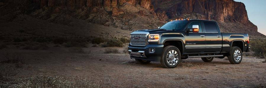 Trucks  SUVs  Crossovers    Vans   2018 GMC Lineup 2018 GMC Sierra 2500HD Denali
