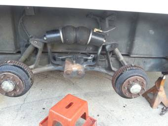 Firestone Air Bag Suspension >> GMC Motorhome, why do you need a 4 bag rear suspension?