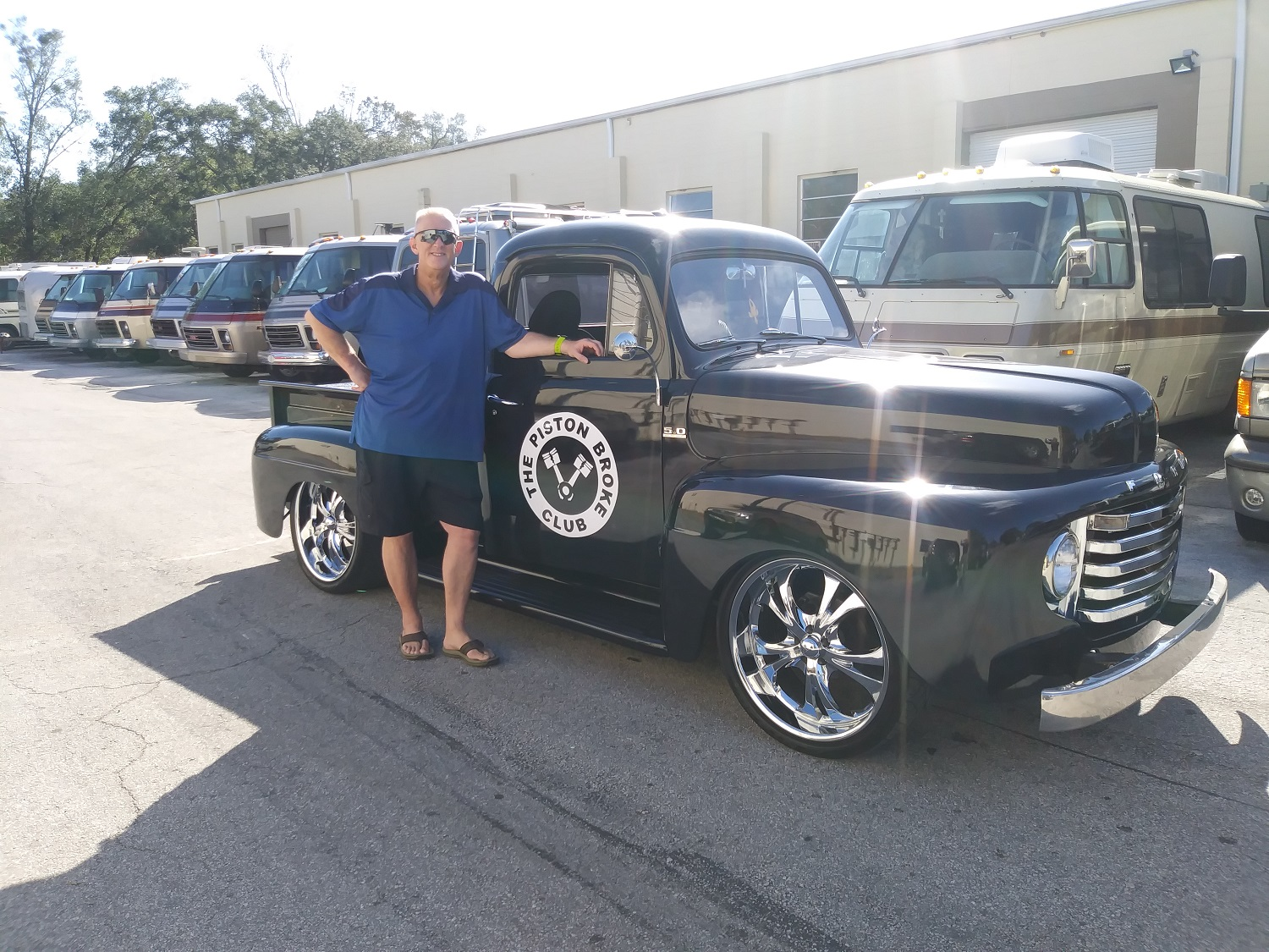50 Ford truck 21