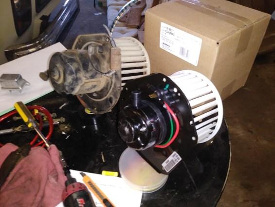 AC blower motor replace 16