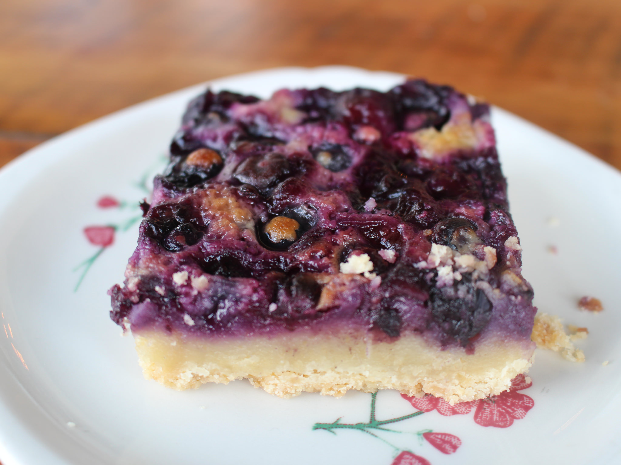 Blueberry Maple Pie Bar