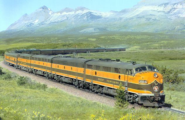 Empire Builder Railway