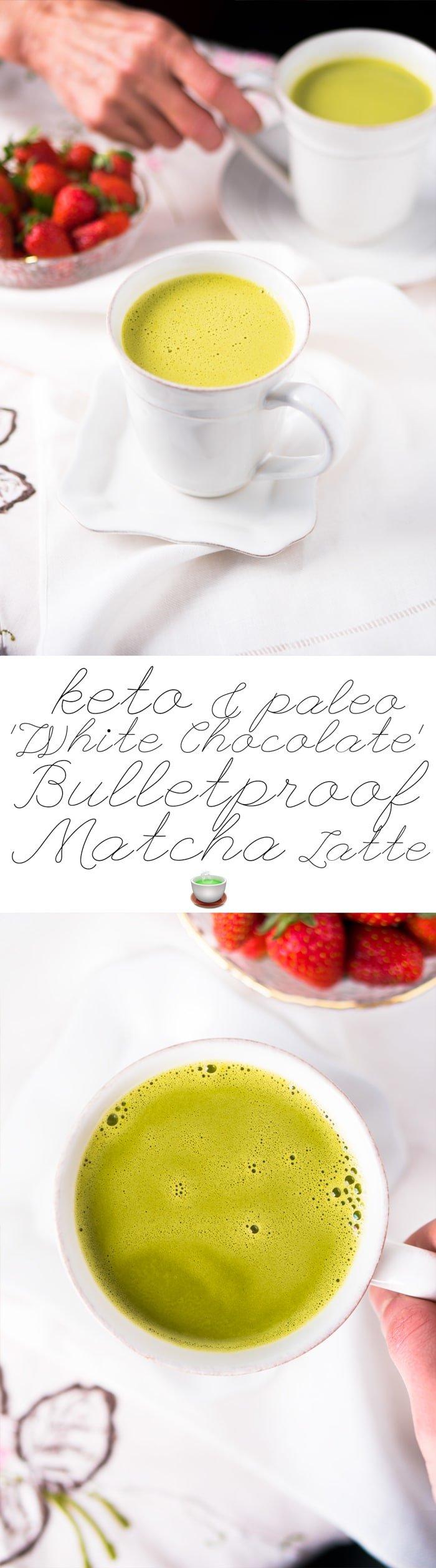 Creamy Cocoa Matcha Latte Recipe