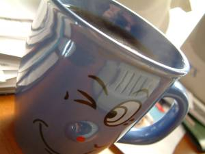 winking cup