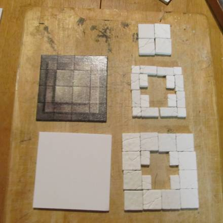 Troy's Crock Pot: Building Terrain with One Tile Mold, Part 2