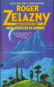 Nine Princes in Amber book cover image