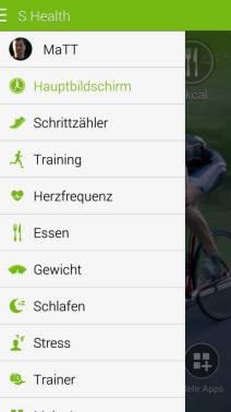 Samsung S Health Update