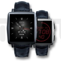 Omate X: Fashion-SmartWatch mit Touchscreen