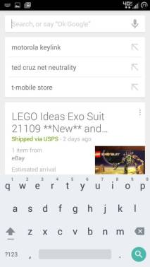 Google Tastatur 4.0