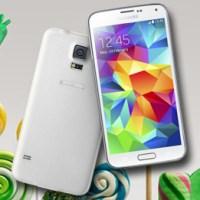 Samsung Galaxy S5: Android 5.0 Lollipop gibt es nun auch als OTA