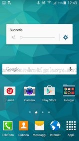 Samsung Galaxy S5 mit Lautlos-Modus
