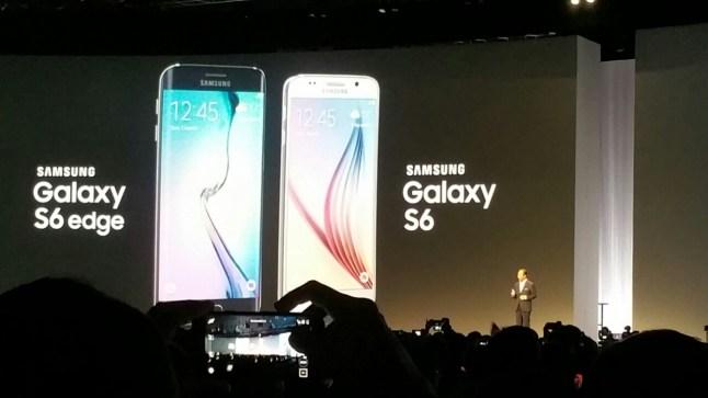 Samsung Galaxy S6 und Samsung Galaxy S6 edge