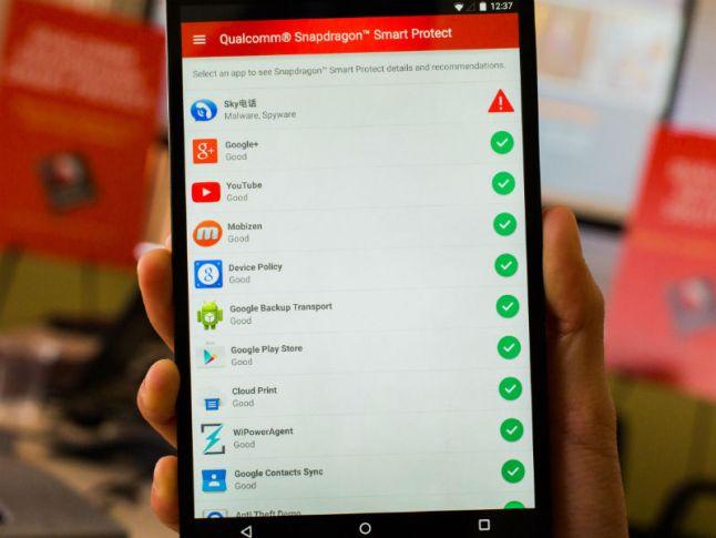 Snapdragon 820 mit Qualcomm Smart Protect