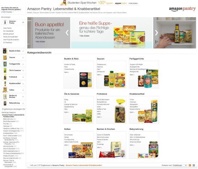 Amazon Pantry