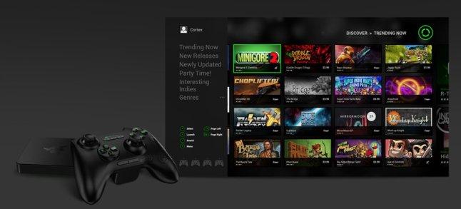 Razer Forge TV mit Cortex App Store