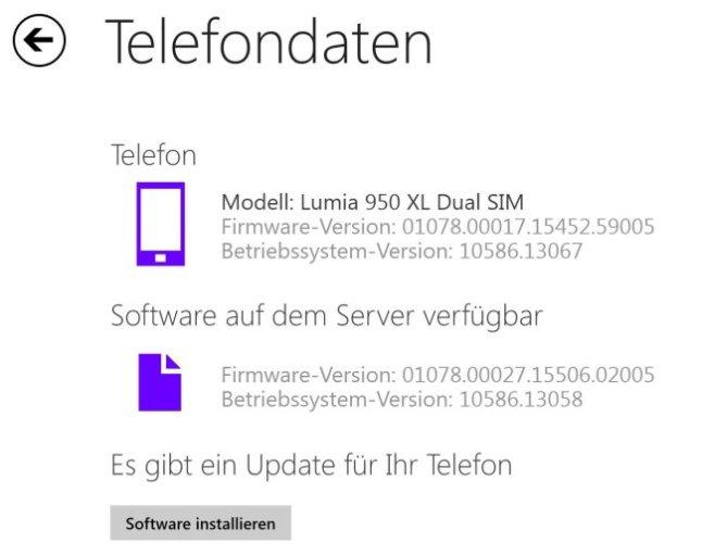 Es gibt eine neue Firmware von Microsoft