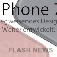 iPhone 7 Präsentation zur IFA 2016 Woche ohne Homebutton