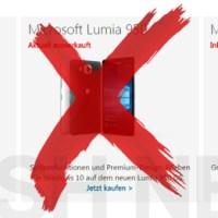 Lumia Ausverkauf: Nun ist auch das Lumia 950 bei Microsoft ausverkauft