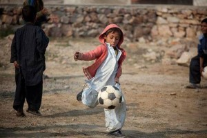 Pakistani kids are playing the game in full flow.